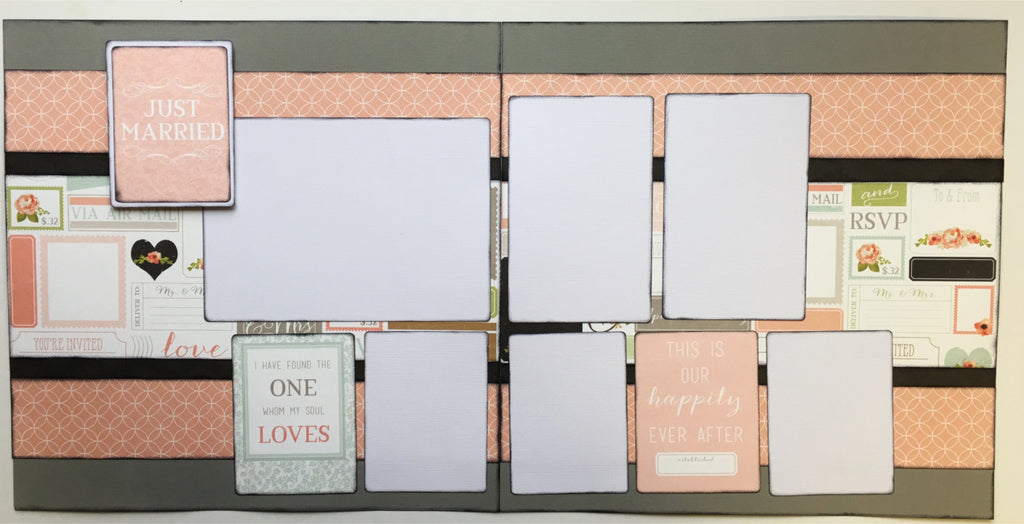 # 28 Just Married Layout Kit