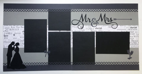 #72 Mr & Mrs Layout Kit