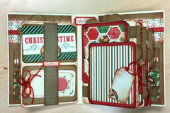 Happy Holidays Mini Album Project Kit