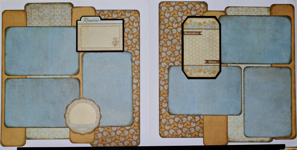 #70 Remember When Layout Kit