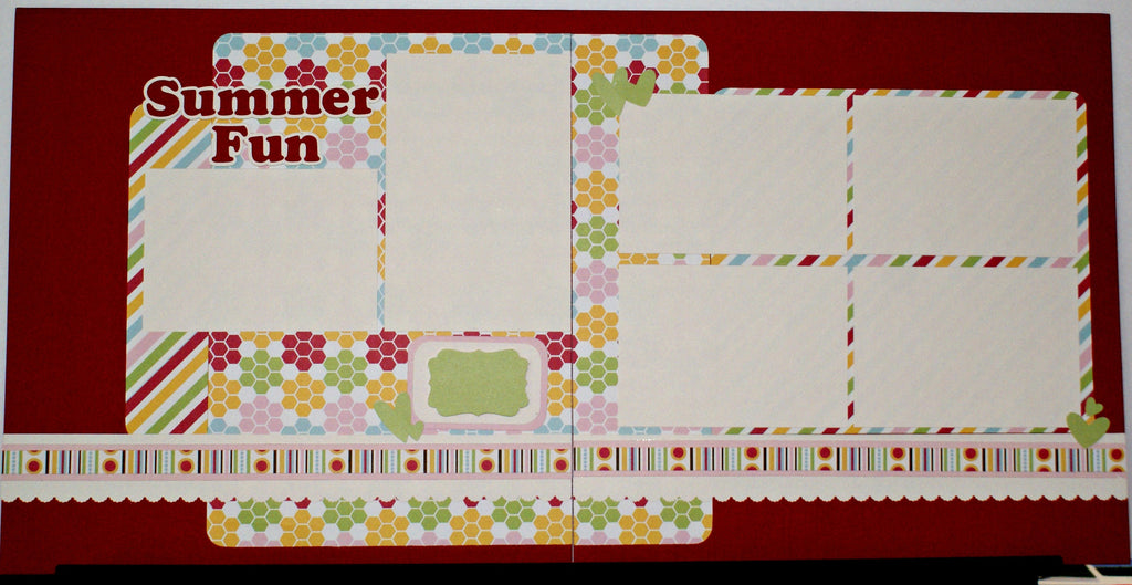 #61 Summer Fun Layout Kit