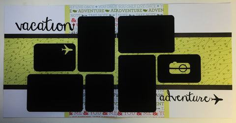 #81 Vacation Adventures Layout Kit