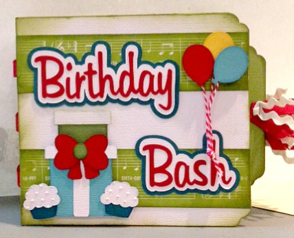 Birthday Bash Minute Mini Album kit