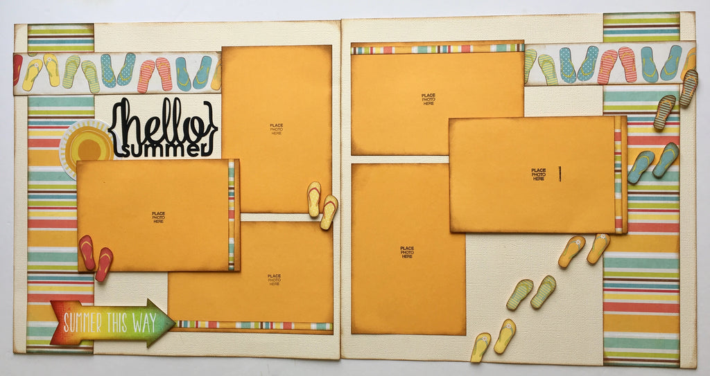 #53 Hello Summer Layout Kit