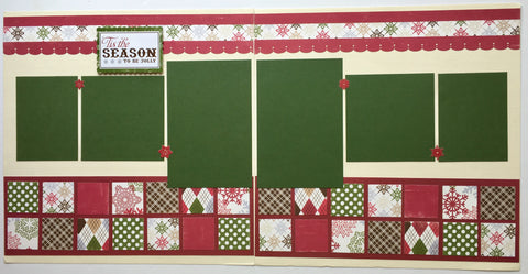 #67 'Tis the Season Layout Kit