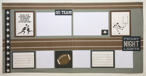 #9 Friday Night Lights Layout Kit