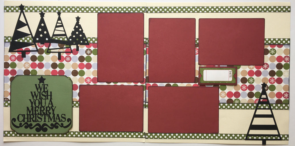 #48 We Wish You A Merry Christmas Layout Kit