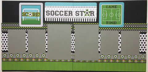 #75 Soccer Star Layout Kit