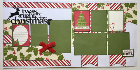 #49 'Twas the Night Before Christmas Layout Kit