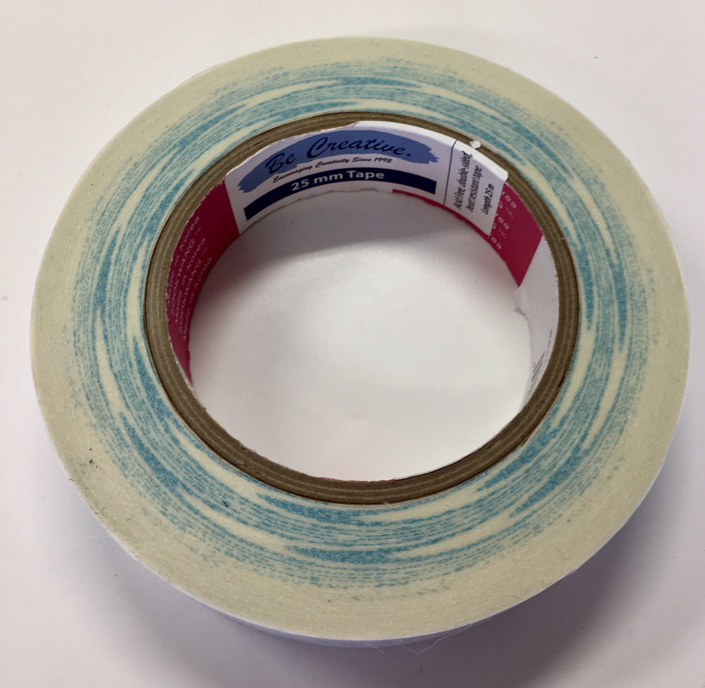 "Be Creative - 25mm Tape (Approximately 1"") - Adhesive"