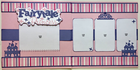 #66 Fairytale Princess Layout Kit