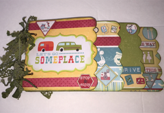 Lets Go Someplace Minute Mini Album kit