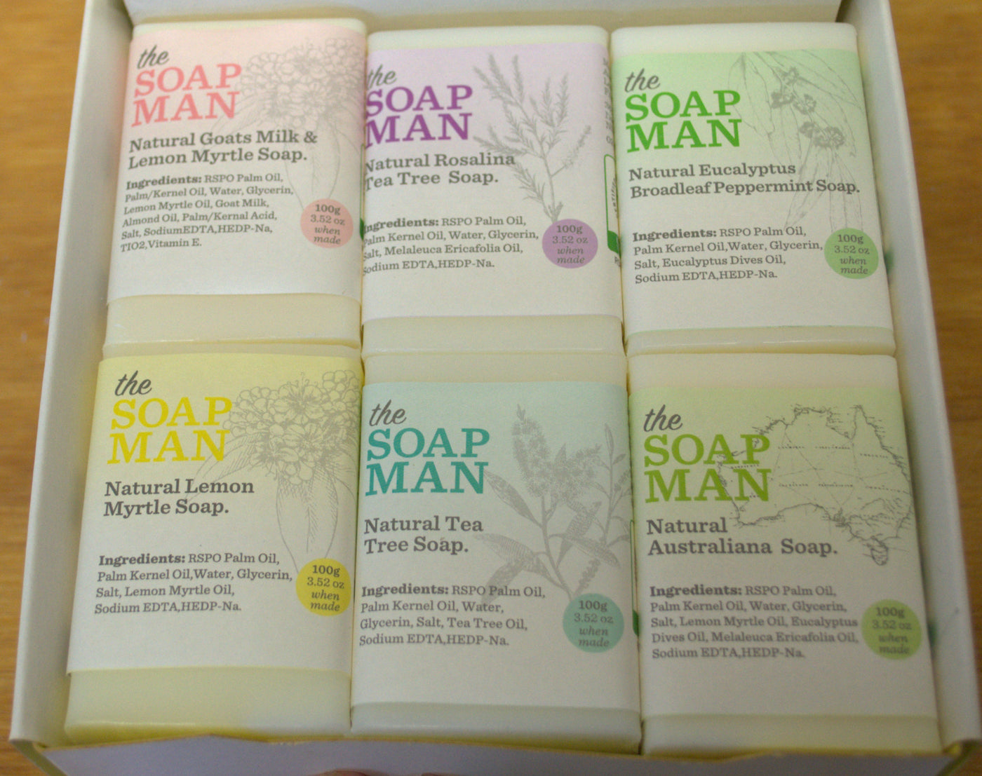 Australian Botanical Soaps by the Soapman