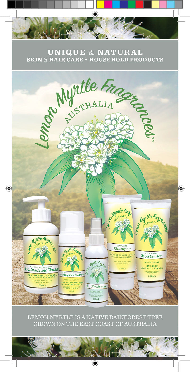 New brochure with natural health beauty and household tips