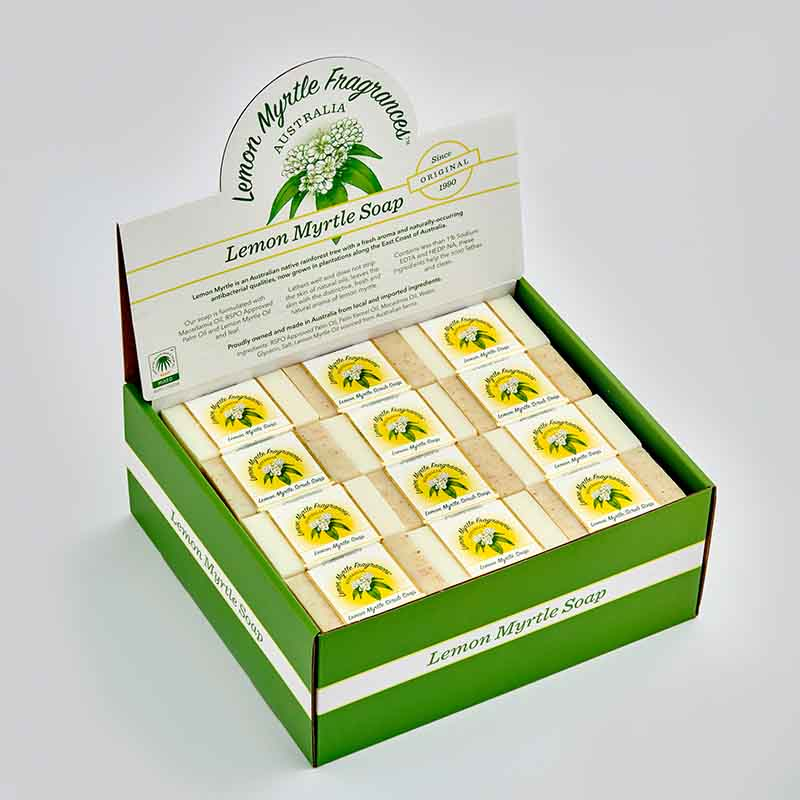 lemon Myrtle products soaps