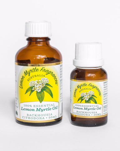 Uses for Lemon Myrtle Essential Oil