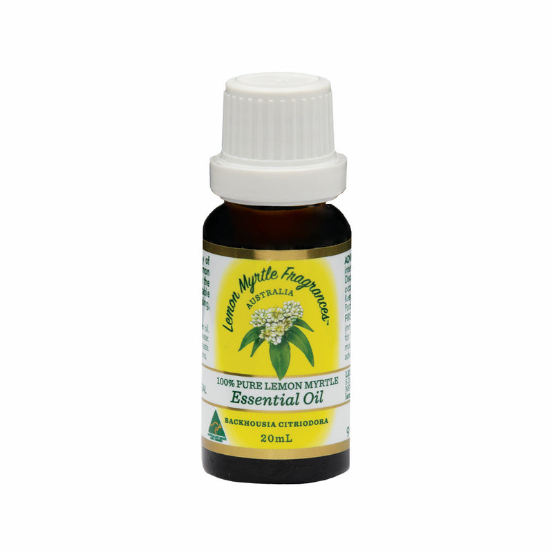 Natural Lemon Myrtle 100% Pure Essential Oil