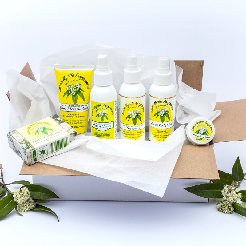 Natural Lemon Myrtle Active Peoples' Gift Box