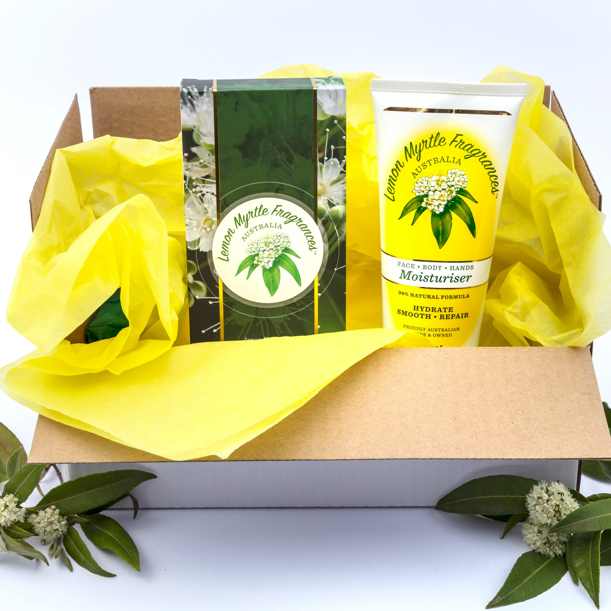 Natural Lemon Myrtle Body Basics Box