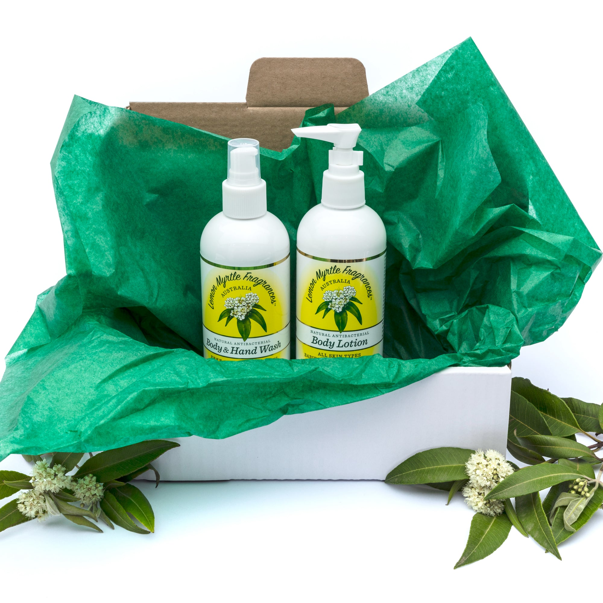 Natural Lemon Myrtle Body Bundle