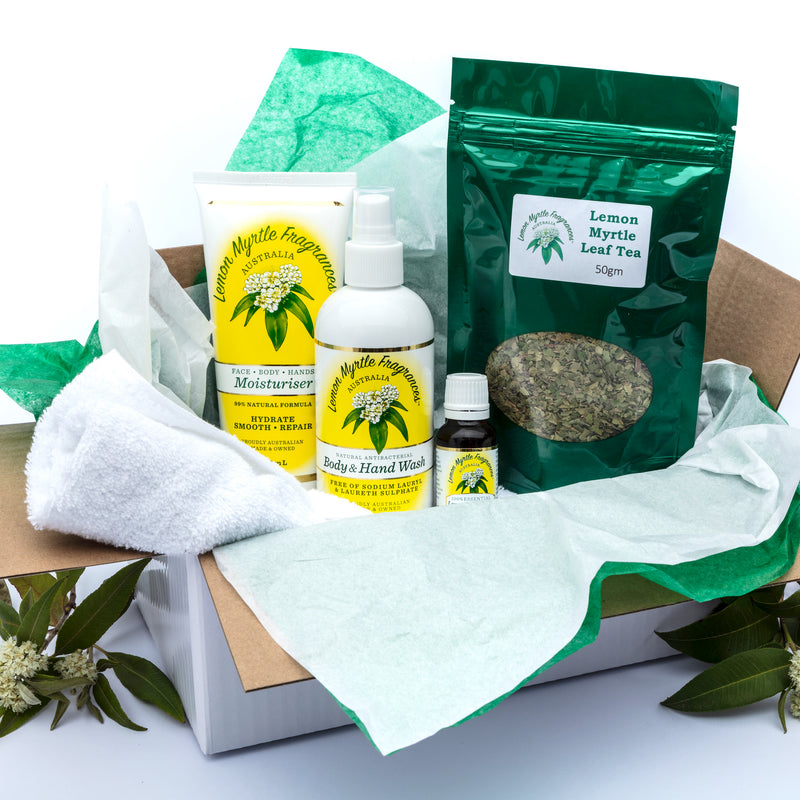 Natural Lemon Myrtle Calm Cook's Gift Box
