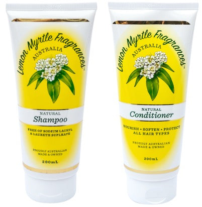 Natural Lemon Myrtle Hair Care Bundle