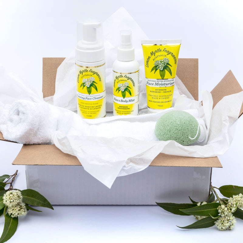 Natural Lemon Myrtle Daily Face Gift Box
