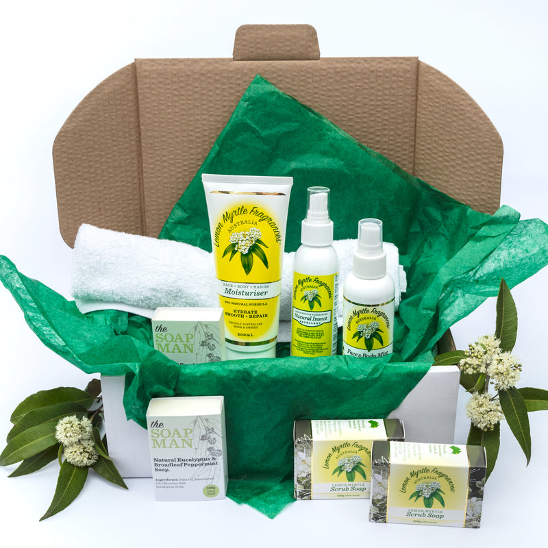 Natural Lemon Myrtle Gardener's Gift Box