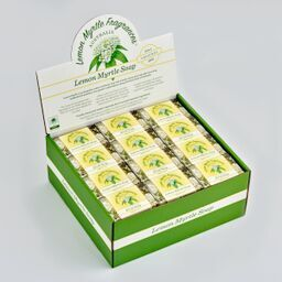 Natural Lemon Myrtle Gift Boxed Soap