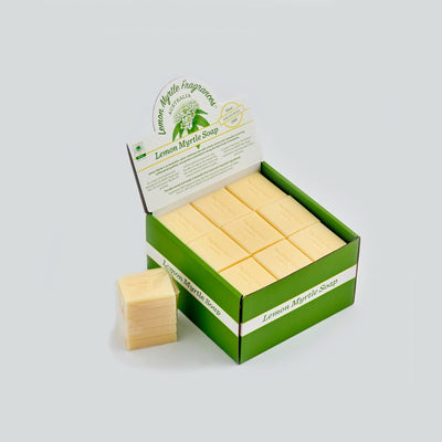 The SoapMan Soap - Lemon Myrtle Guest Soap - 50gm