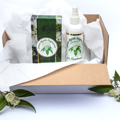 Natural Lemon Myrtle Home Basics Box