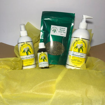 Natural Lemon Myrtle Indulgence Collection