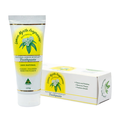 Natural Lemon Myrtle Toothpaste - 150gm