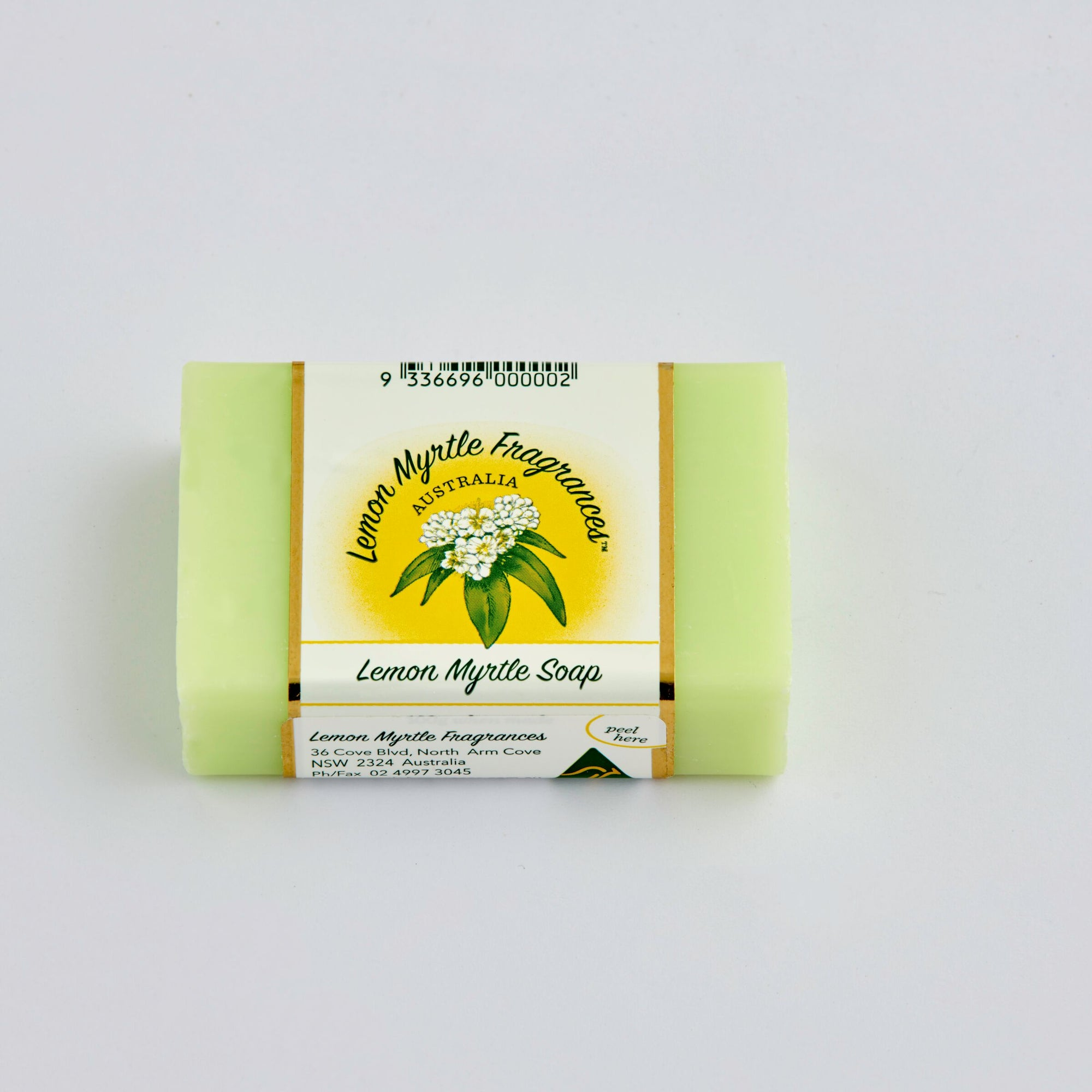 Natural Lemon Myrtle Soap - Single Plain Bars