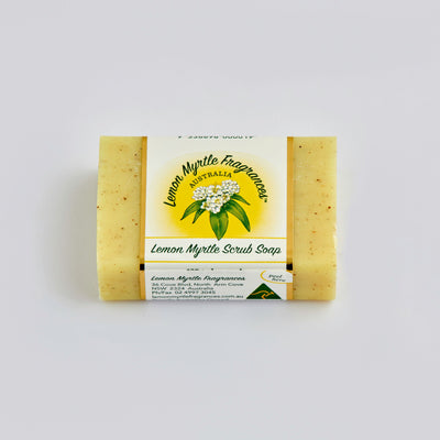 Lemon Myrtle Natural Soap - Display Box 48 Bars