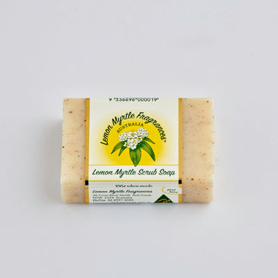 Natural Lemon Myrtle Soap - CDU 48 Bars