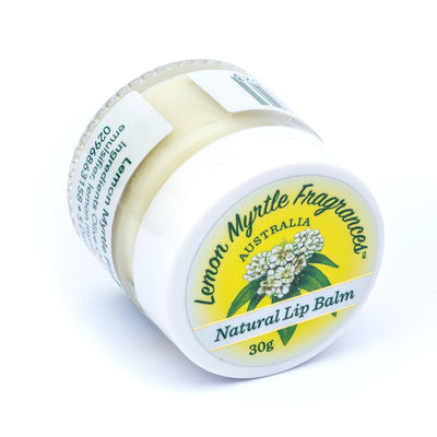 Natural Lemon Myrtle Lip Balm - 30gm