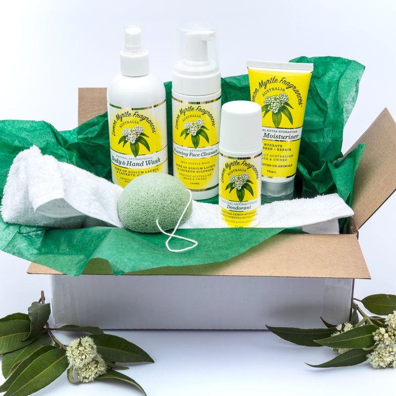 Natural Lemon Myrtle Refresh Moisturise Gift Box