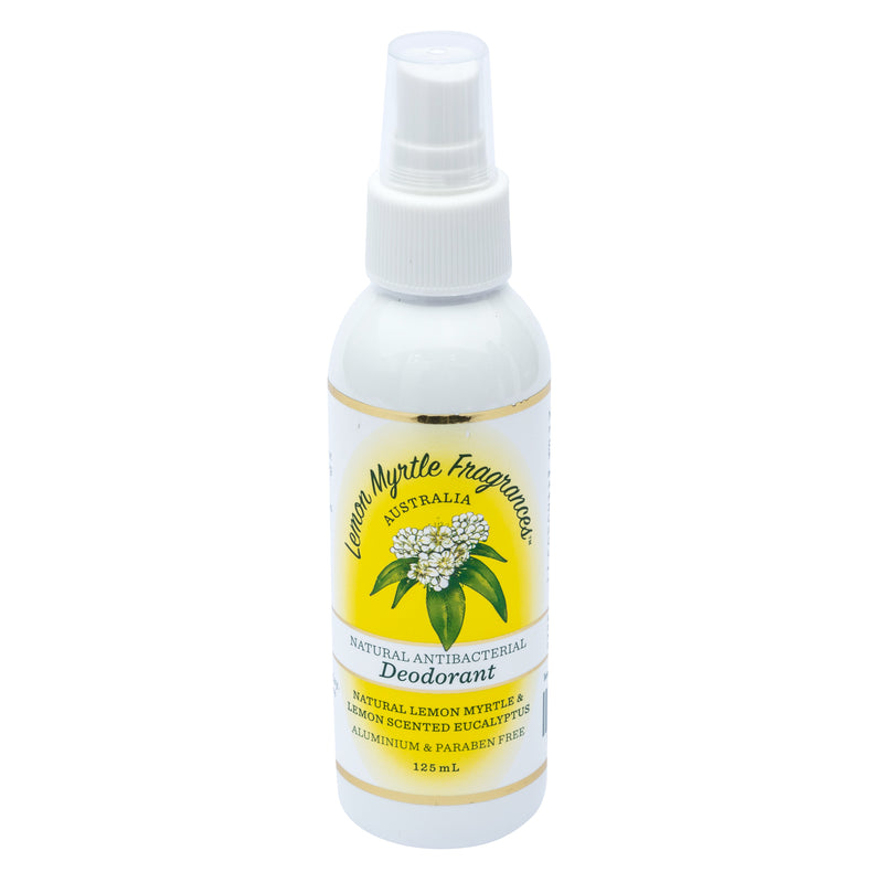Natural Lemon Myrtle Deodorant - 125mL