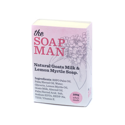 The SoapMan Soap - Australian Botanic Oils Individual Soap Bars