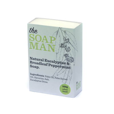 The SoapMan Soap - Australian Botanic Oils Soap Bundle of 4