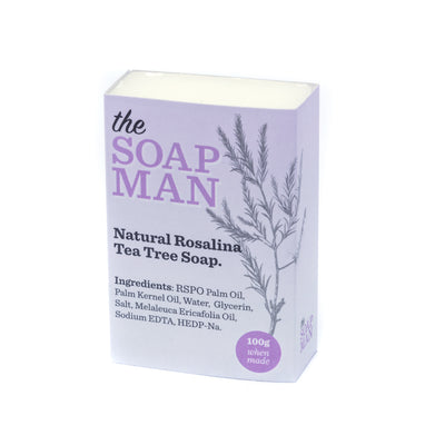 The SoapMan - Australian Botanic Oils Individual Soap Bars