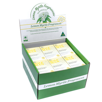 The SoapMan Soap - Australian Botanic Oils Soap CDU of 24