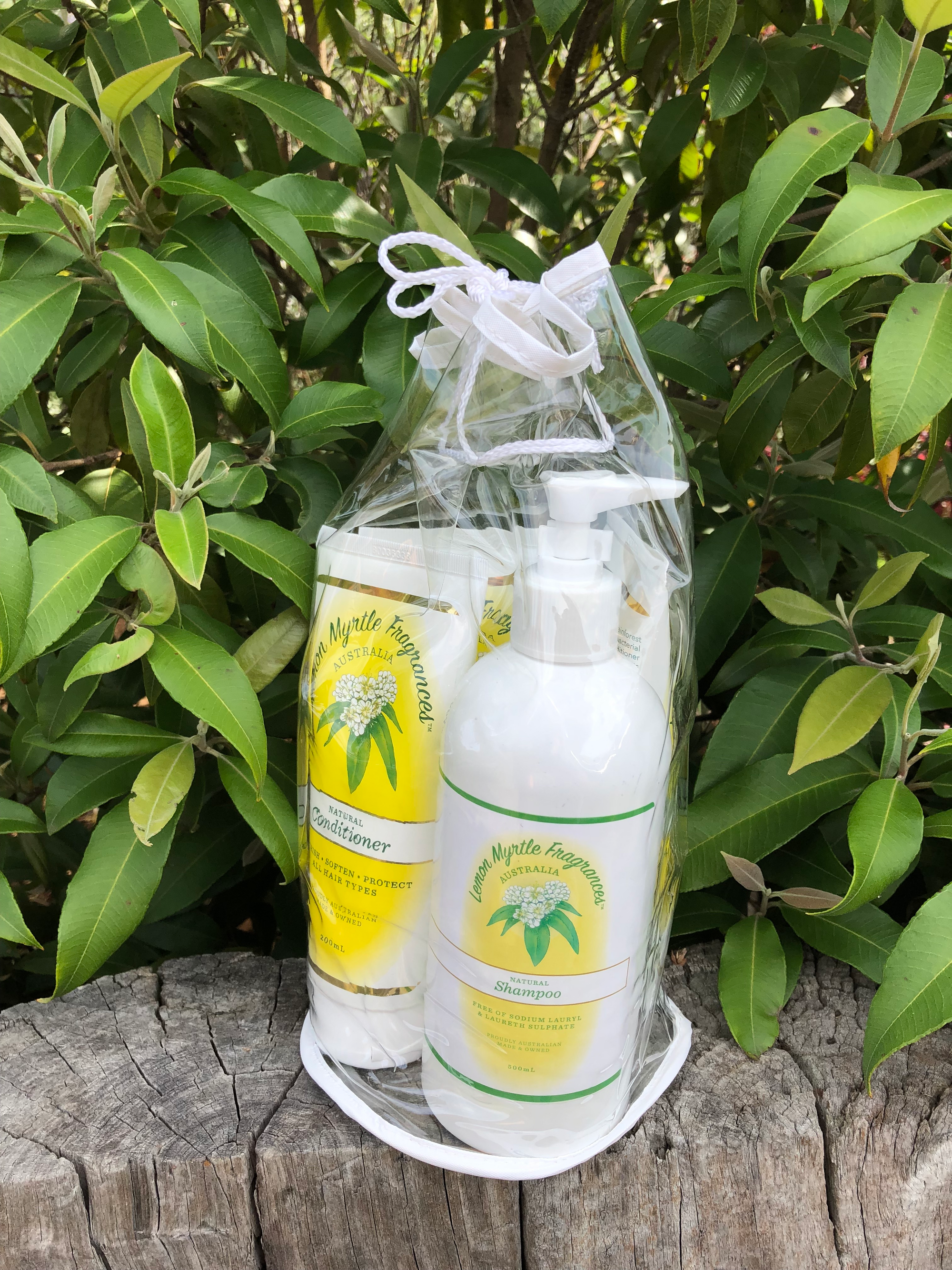 Natural Lemon Myrtle Hair Care Bag