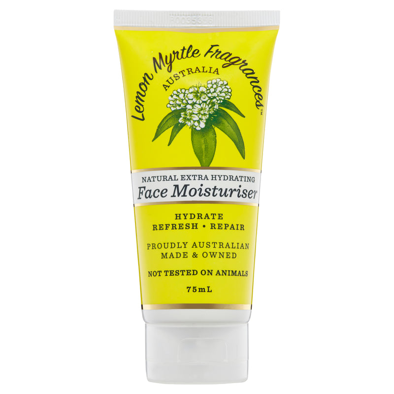 Natural Lemon Myrtle Face Moisturiser - 75mL