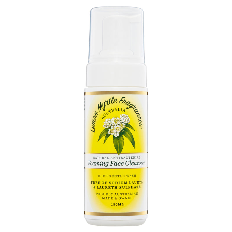 Natural Lemon Myrtle Foaming Face Cleanser - 150mL
