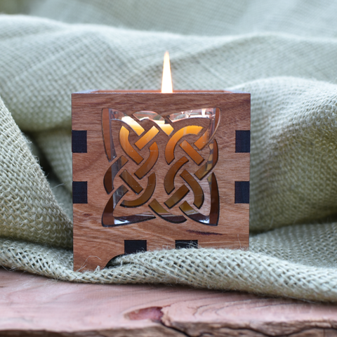 Celtic Knot Votive Candle Holder