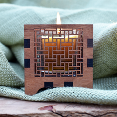 Windows Votive Candle Holder