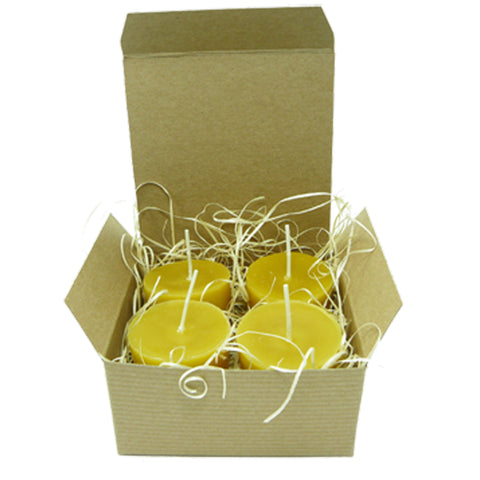 100% Beeswax Votive Box Set