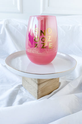Snooze Wine Glass